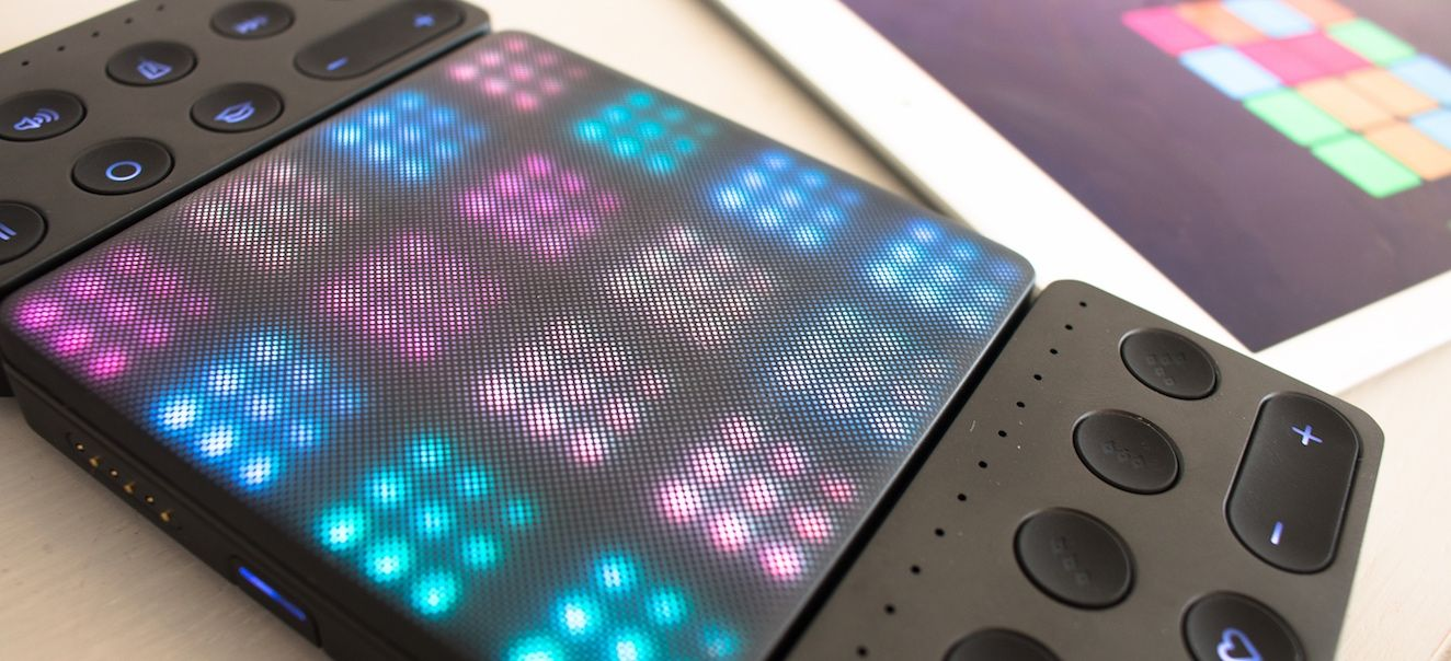 Roli Blocks and Roli Noise: A First Look
