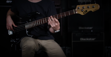 The ESP LTD AP-204 Bass: Classic Shape, Versatile Sound