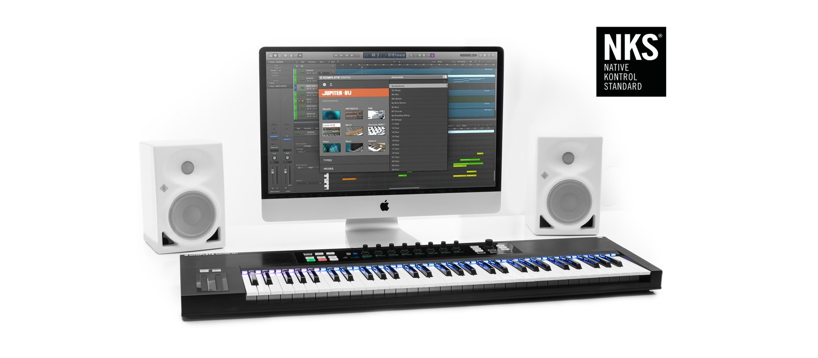 NKS - now in all Komplete Kontrol S-series keyboards and Maschine 2.x software