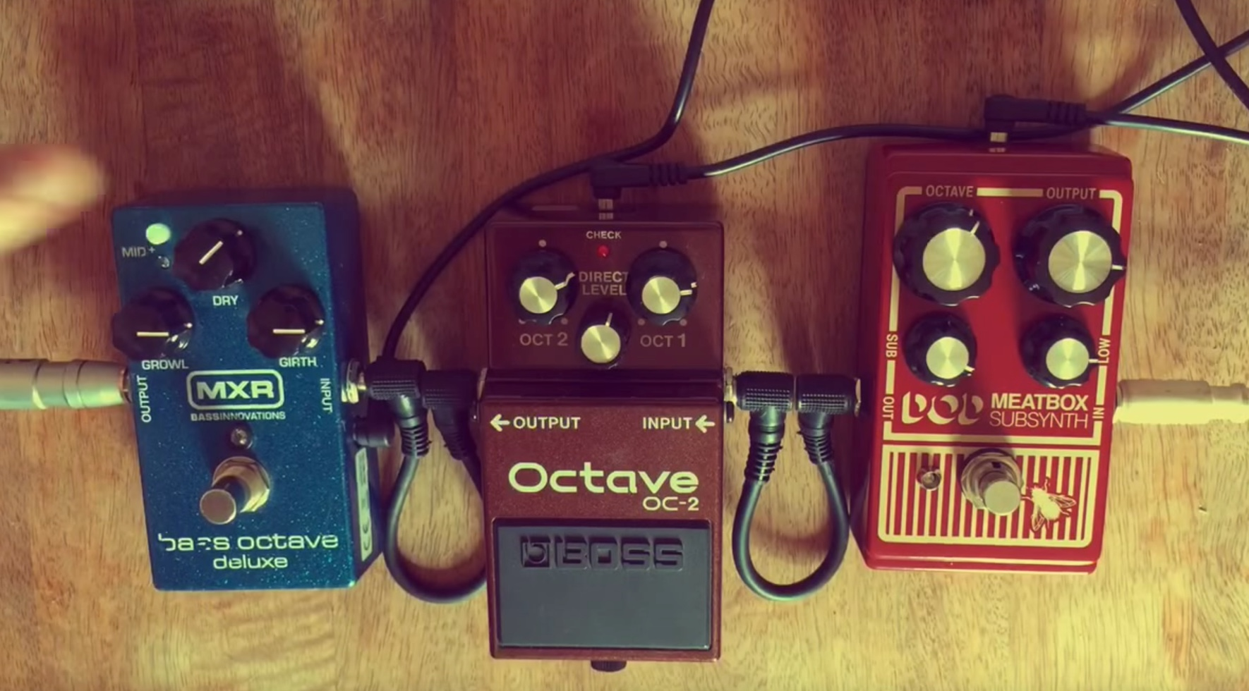 Bass Pedal Shootout: MXR v BOSS v DOD