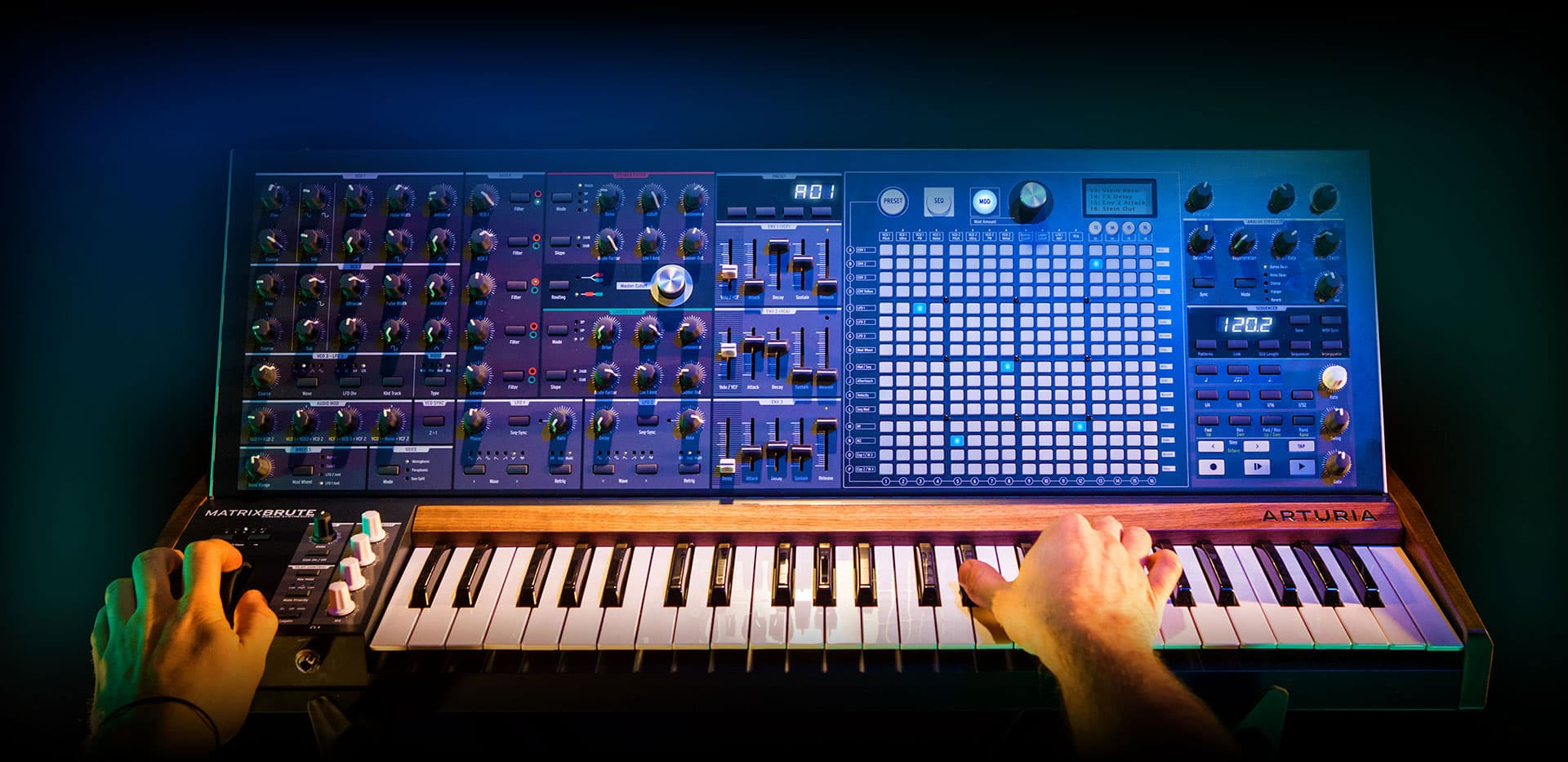 Arturia MatrixBrute Review from Sonic LAB
