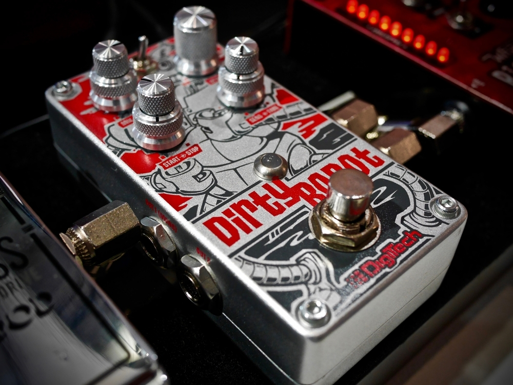 The Digitech Dirty Robot in its natural environment.