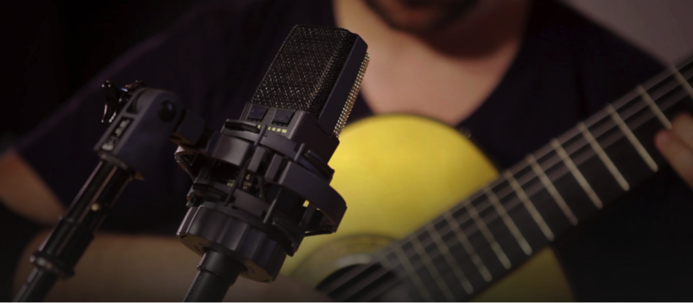 The right mic is essential for recording acoustic guitar