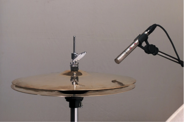 Here's one way to mic up a Hi-Hat