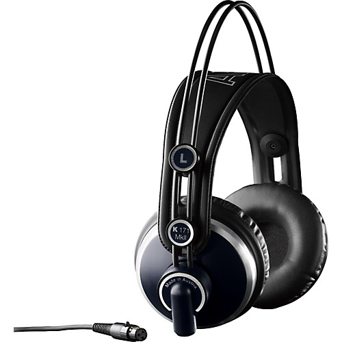 The AKG K171MkII's are the next step up in quality and comfort from the K92's.