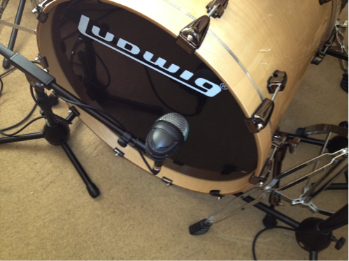 You may have to move your mics around to capture the sound you're seeking.