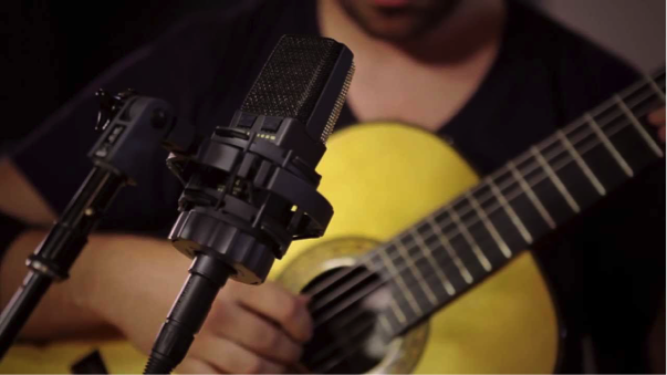 The AKG C-414 is a popular choice for project studios and professionals alike