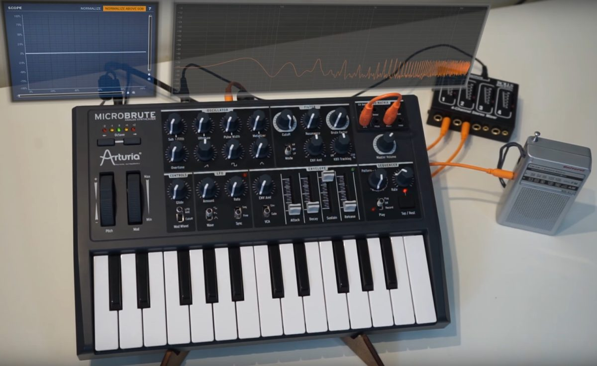 Loopop demonstrates 11 synth tips and tricks with the Arturia MicroBrute