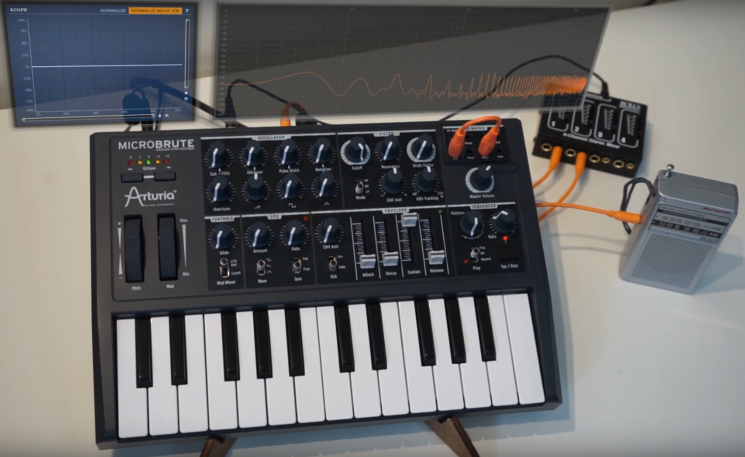 11 Synth Tips And Tricks Using the Arturia Microbrute