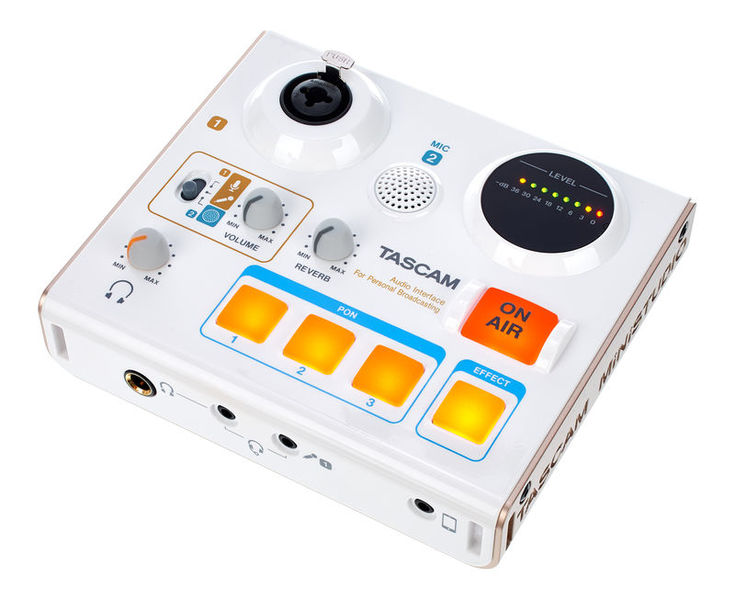 The Tascam US-32 is a soundcard designed specifically for podcasting