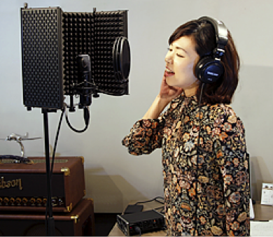When recording vocals, it is important to use acoustic isolation to capture the best recording possible