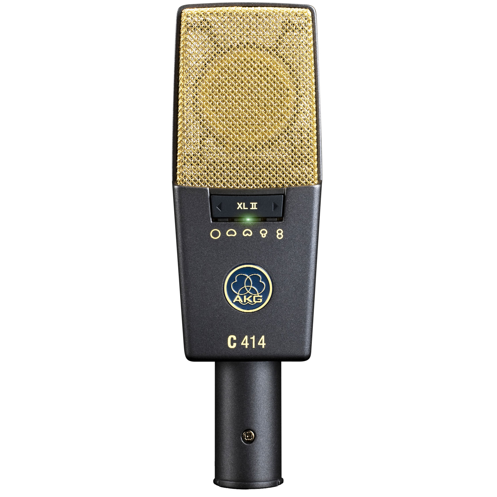 The AKG C414XLII is the latest evolution of AKG's classic studio condensor microphone.
