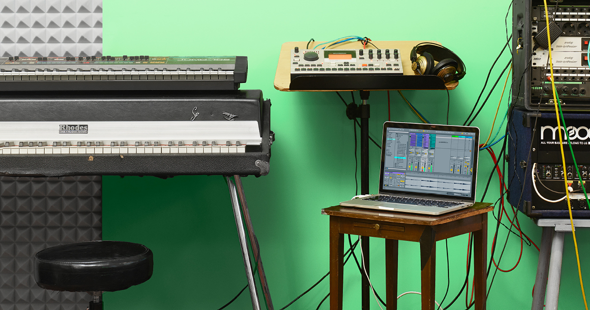 Learning Music Online with Ableton