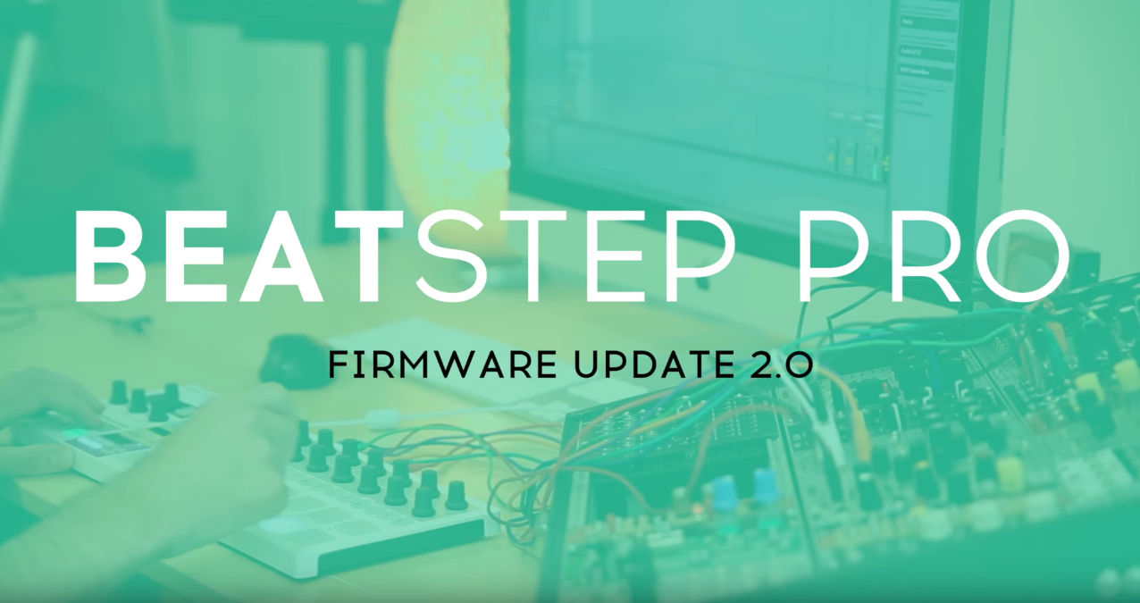 The Arturia BeatStep Pro gets powerful new features and tweaks in the latest V2.0 Firmware update.