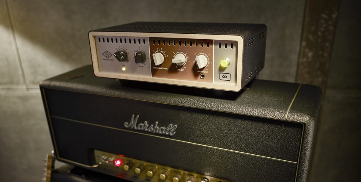 The UA OX Amp Top Box leverages UA's expertise in boutique analogue hardware and premium DSP powered software.
