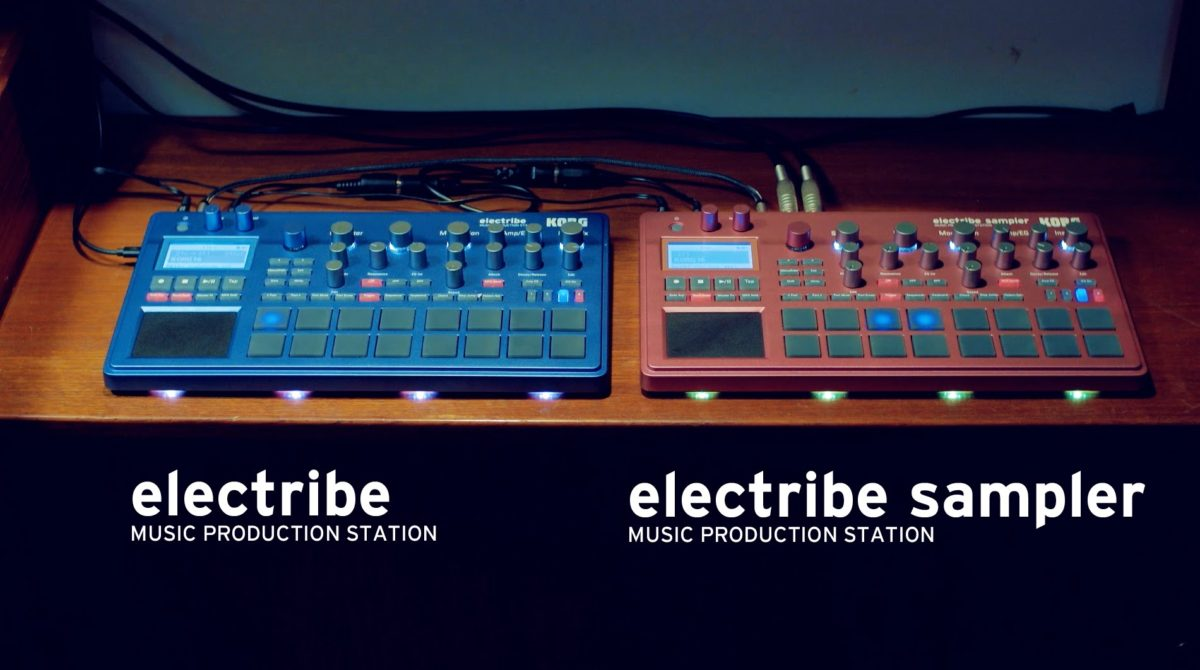 The Korg Electribe is in its fourth generation, with the Electribe and the Electribe Sampler.