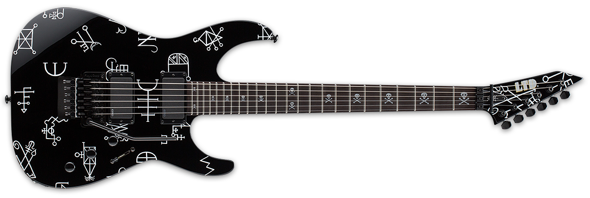 Kirk Hammett LTD Signature Series KH Demonology