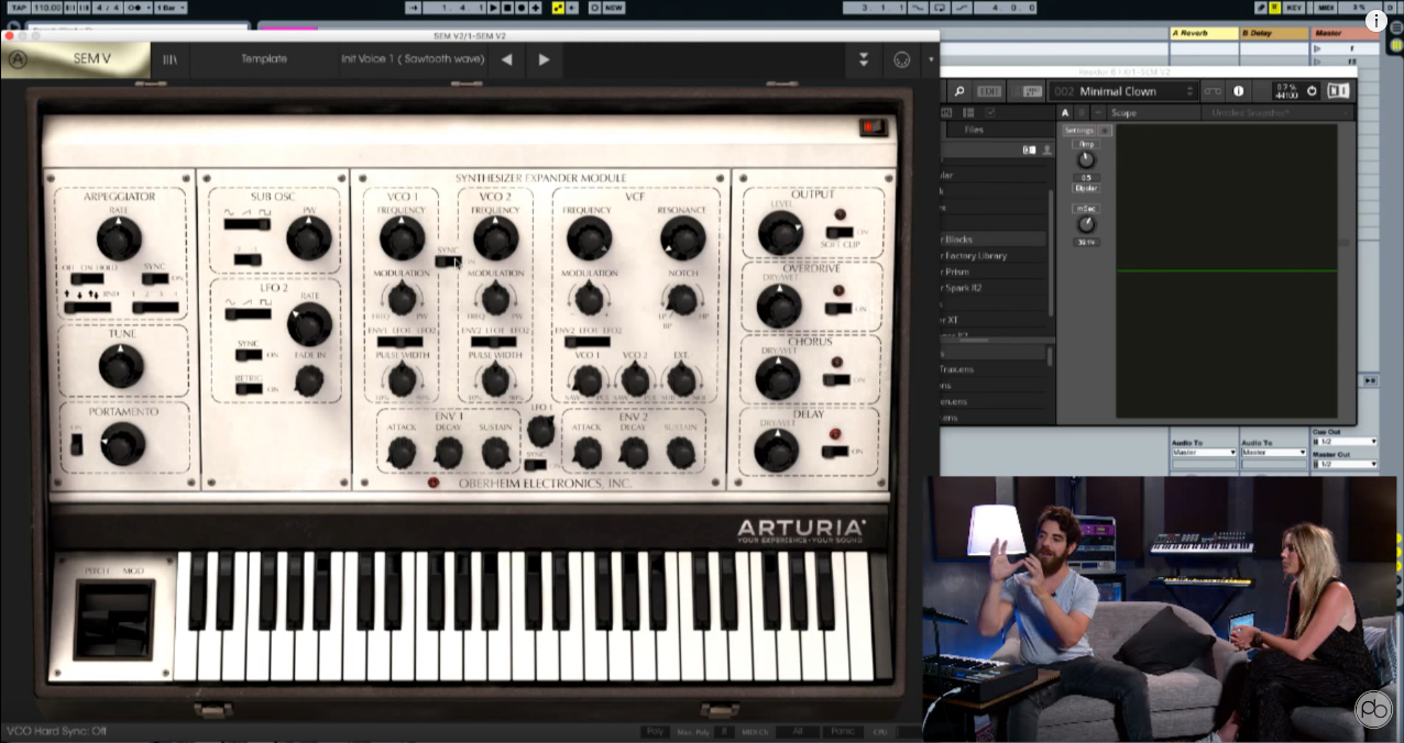 Arturia Oberheim SEM V Overview from Point Blank
