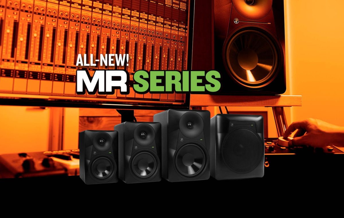 The all new Mackie MR Series Monitors