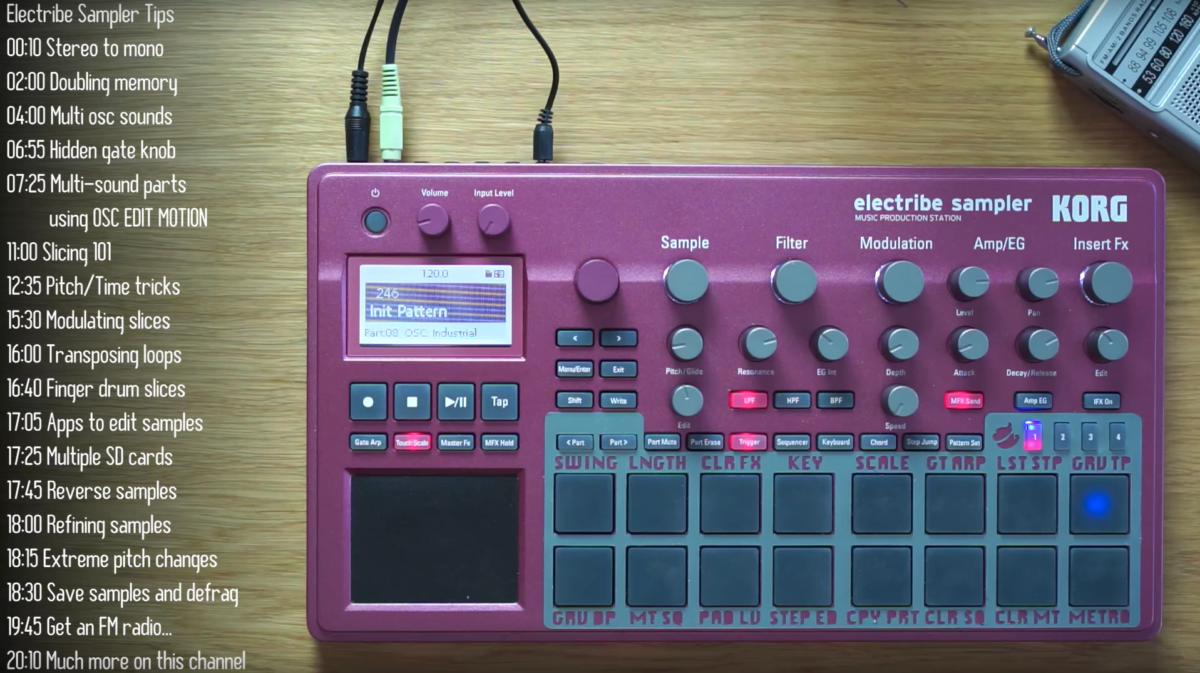 Loopop delivers an in-depth video showing the power of the latest Korg Electribe Sample