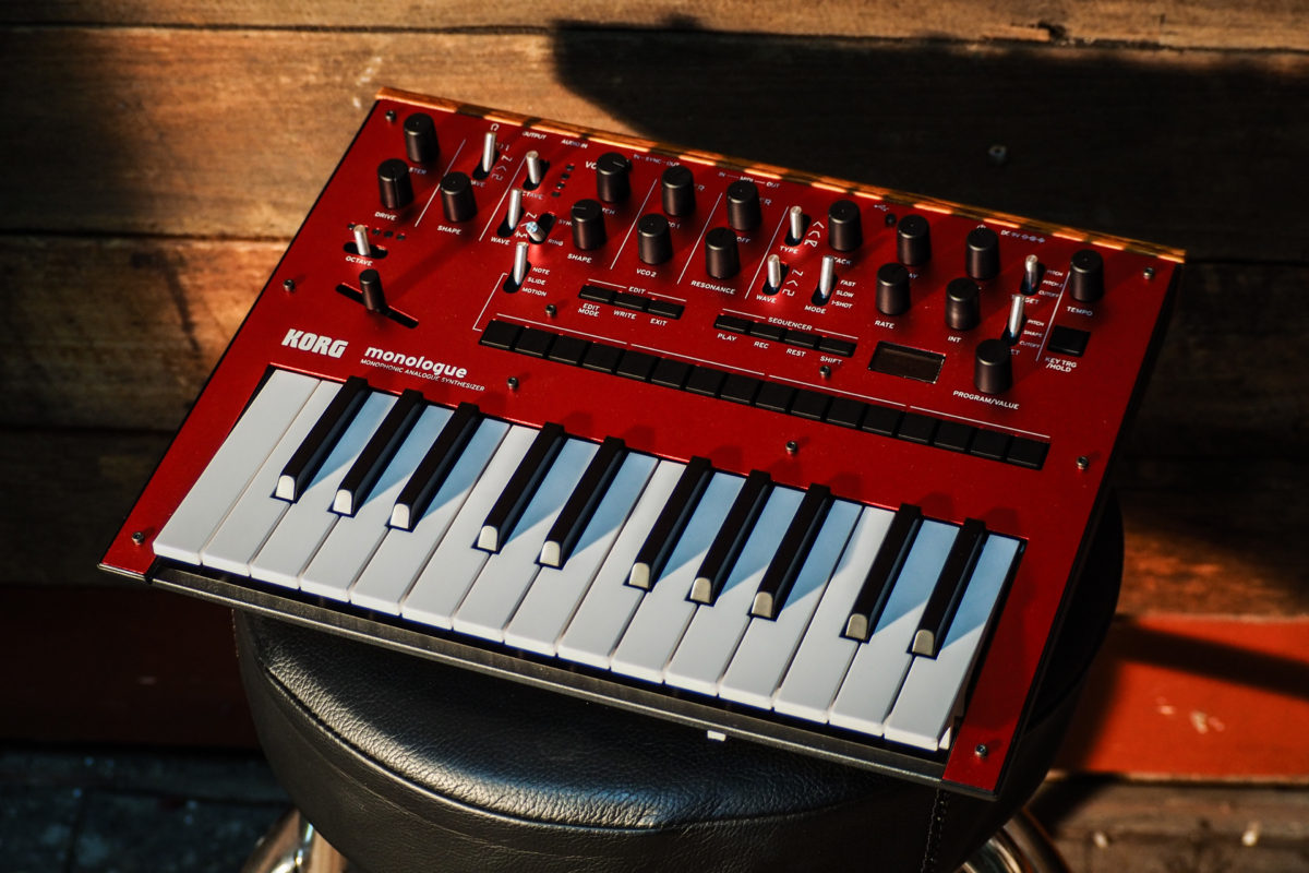The Korg Monologue is truly the pocket rocket of synthesizers.