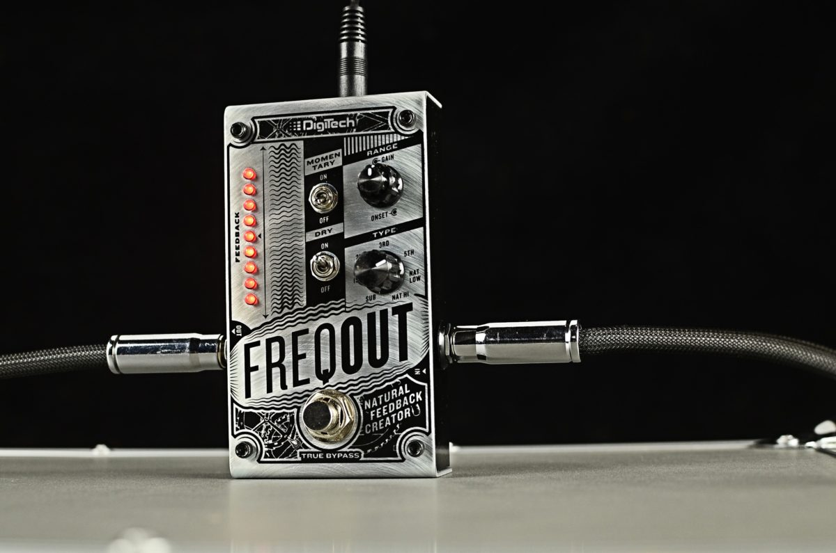 DigiTech FreqOut: Feedback Creation Pedal
