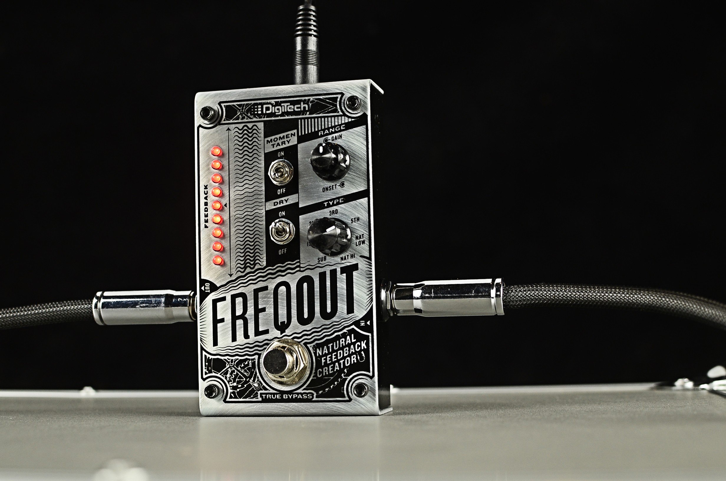 DigiTech FreqOut: Natural Feedback Creation Pedal