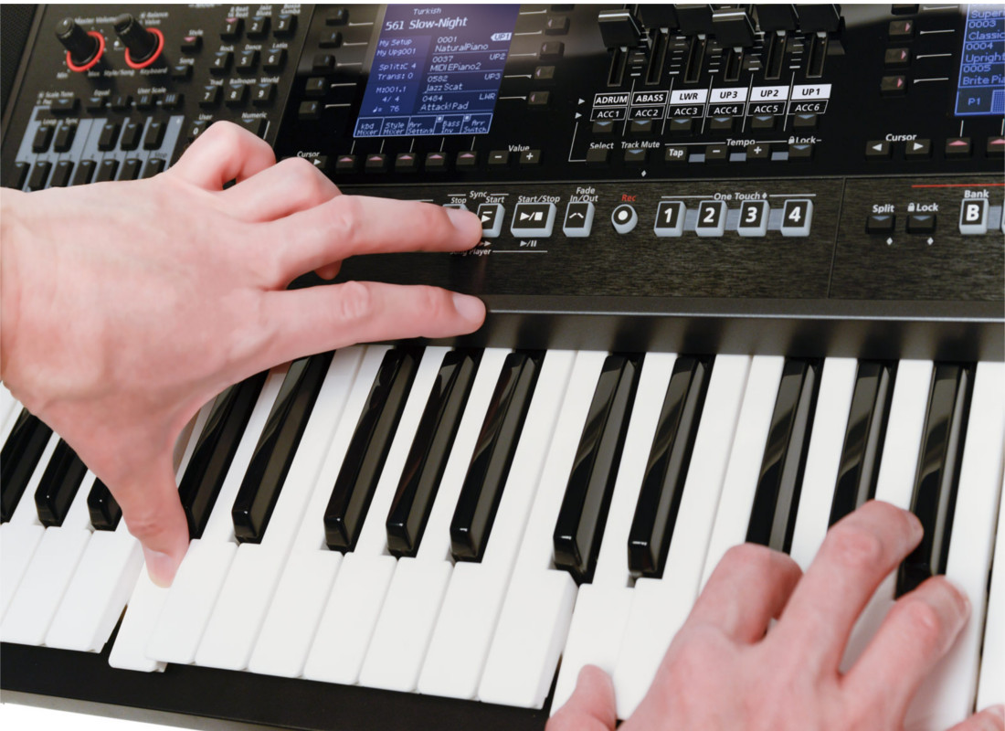 Choose between an Arranger Keyboard or a Workstation