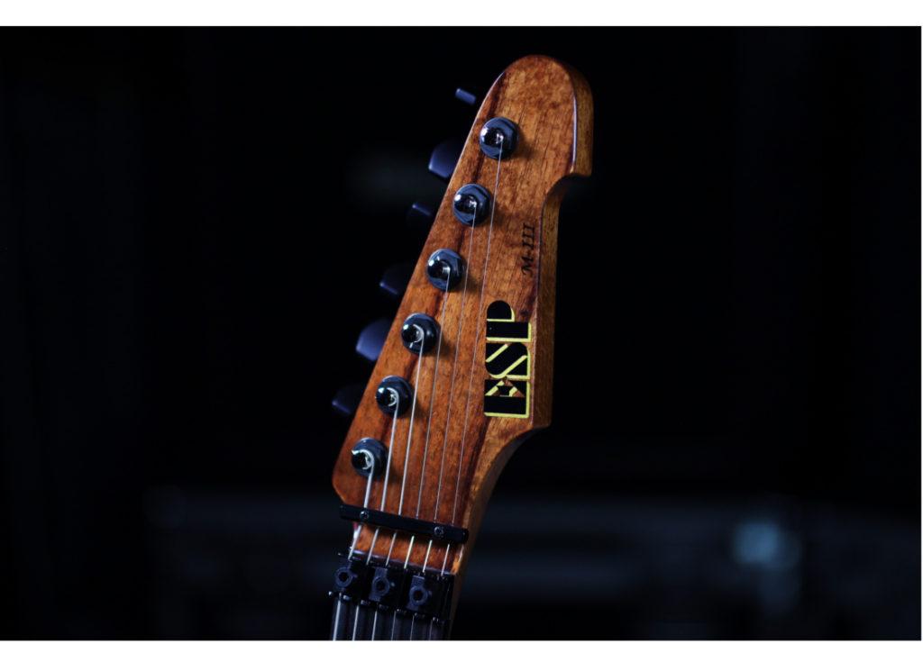 ESP Guitars USA M-III KOA Electric Guitar