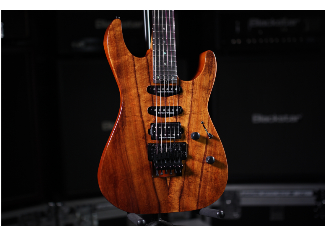 ESP Guitars USA M-III KOA Electric Guitar