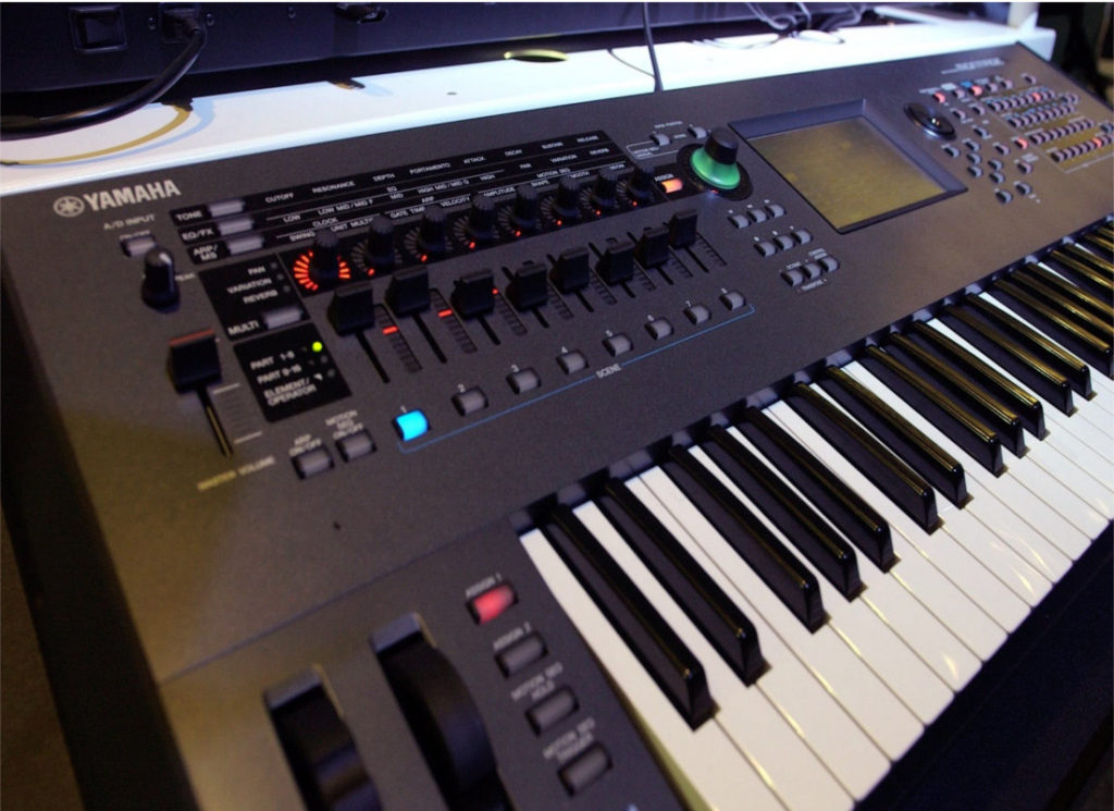 Choose between an Arranger Keyboard or a Workstation Synthesiser