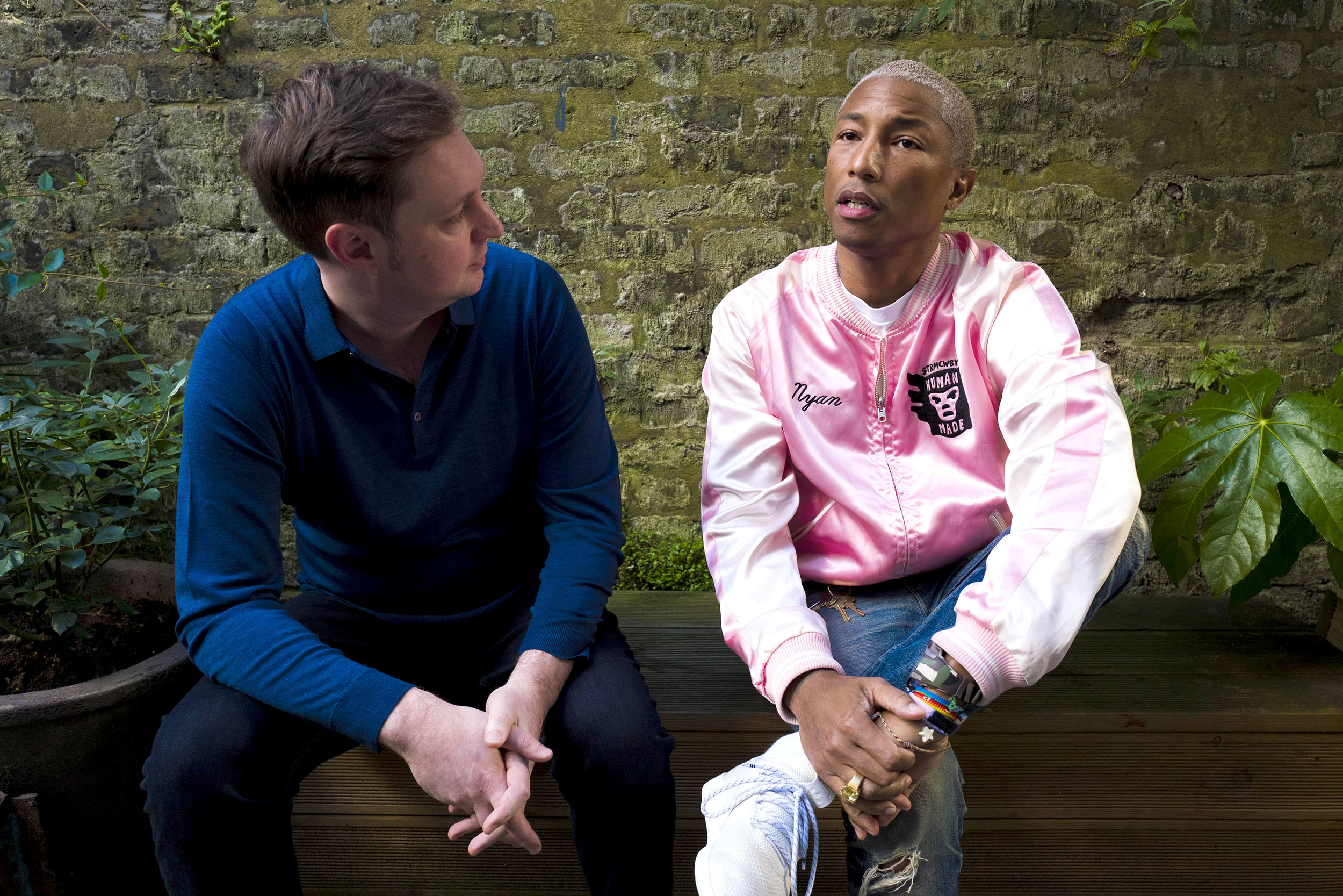 Pharrell and Roland