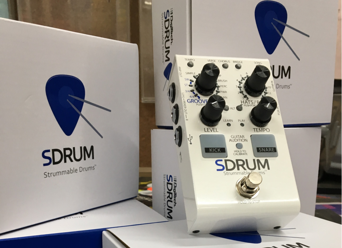 Digitech SDRUM Drum Machine is NOW in Australia