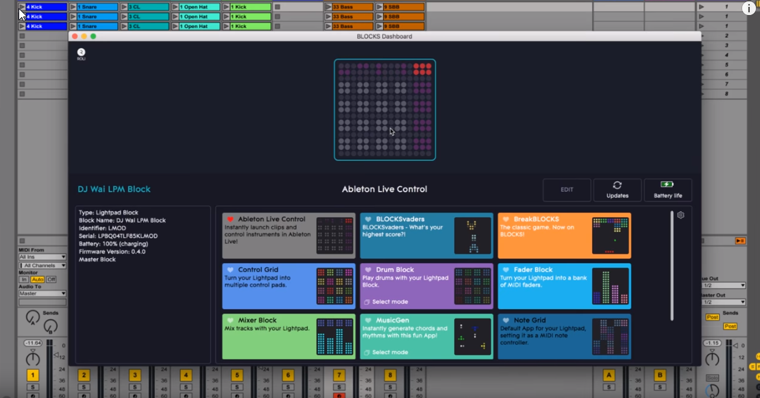 ROLI Lightpad Users Get Ableton Live Lite Free