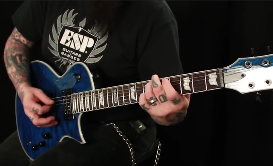 The History of ESP Eclipse Guitars