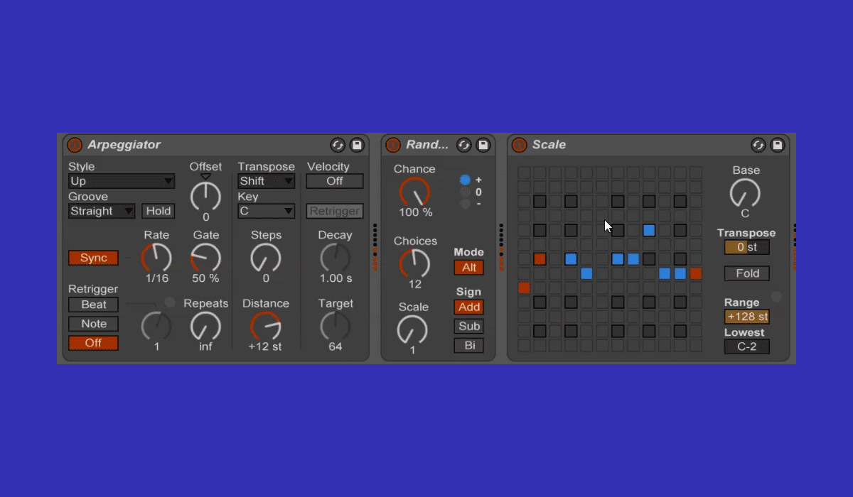 Ableton Live Quick Tip: Make a Step Sequencer Using Native Midi Effect Modules