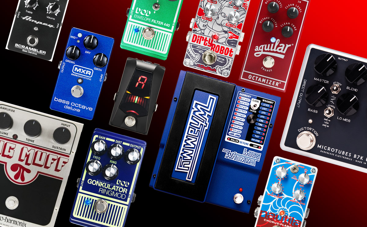 Effects Pedals Options for Bass Guitars