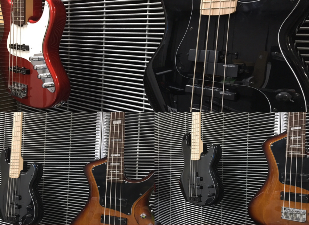 ESP & LTD Bass Guitars