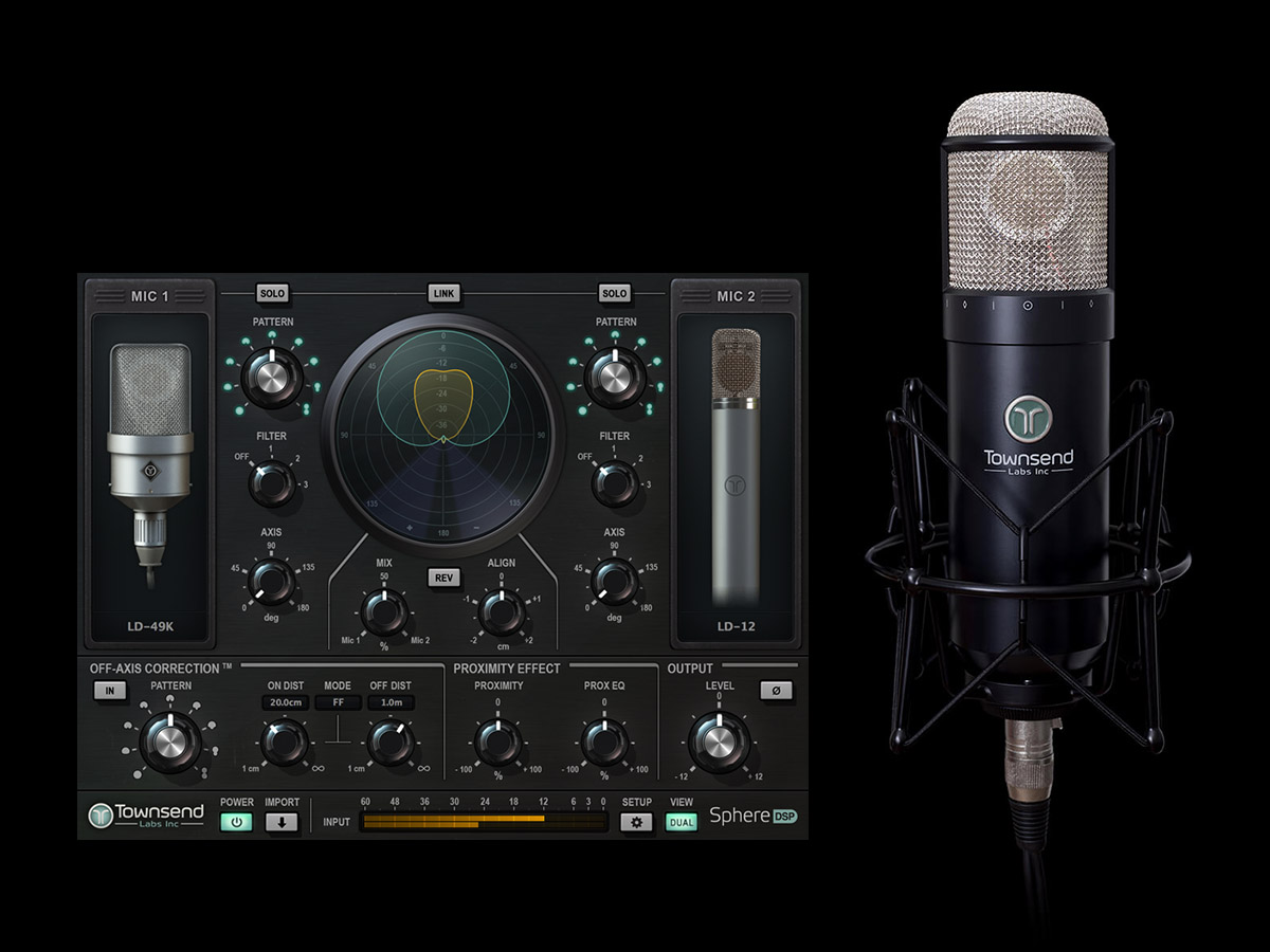 The Revolutionary Townsend Labs L22 Sphere Microphone Modelling System is Coming to Australia