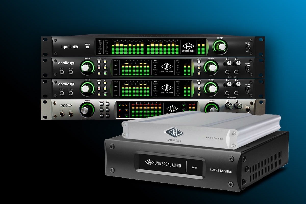 Universal Audio: Buy An Apollo Rack and get a FREE UAD-2 Satellite