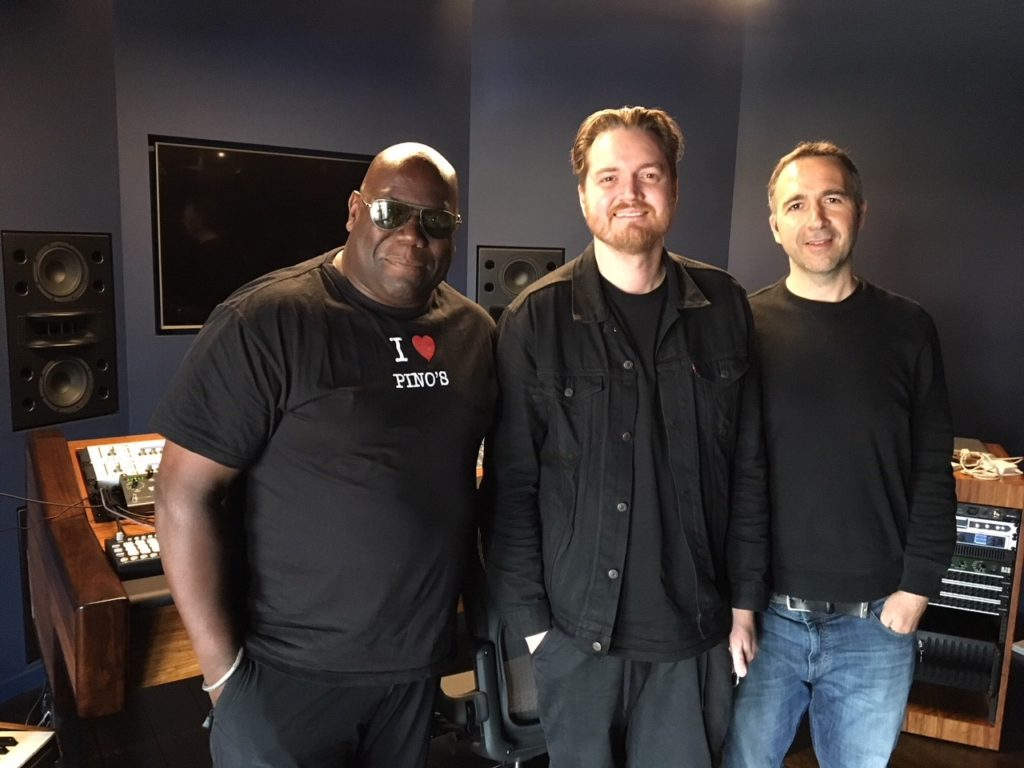 In The Studio: Chatting with Carl Cox