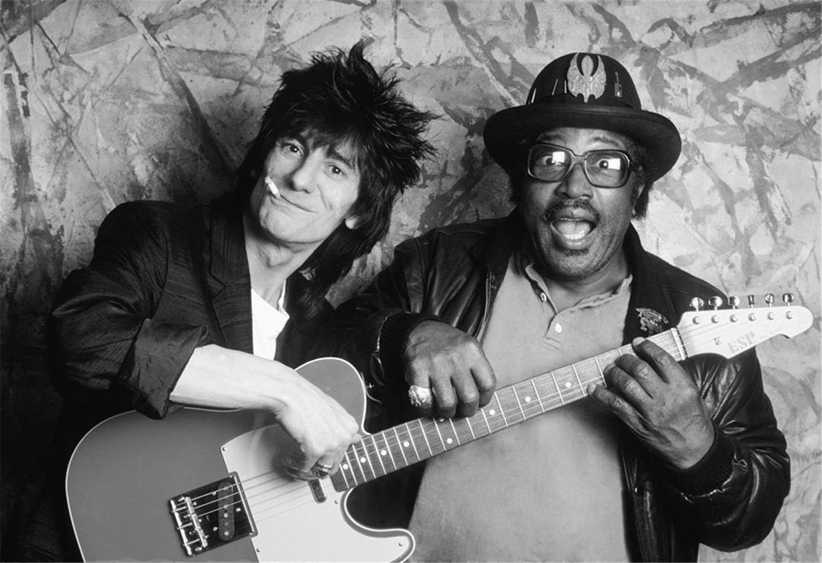 Ron Wood and the Legendary Bo Diddley