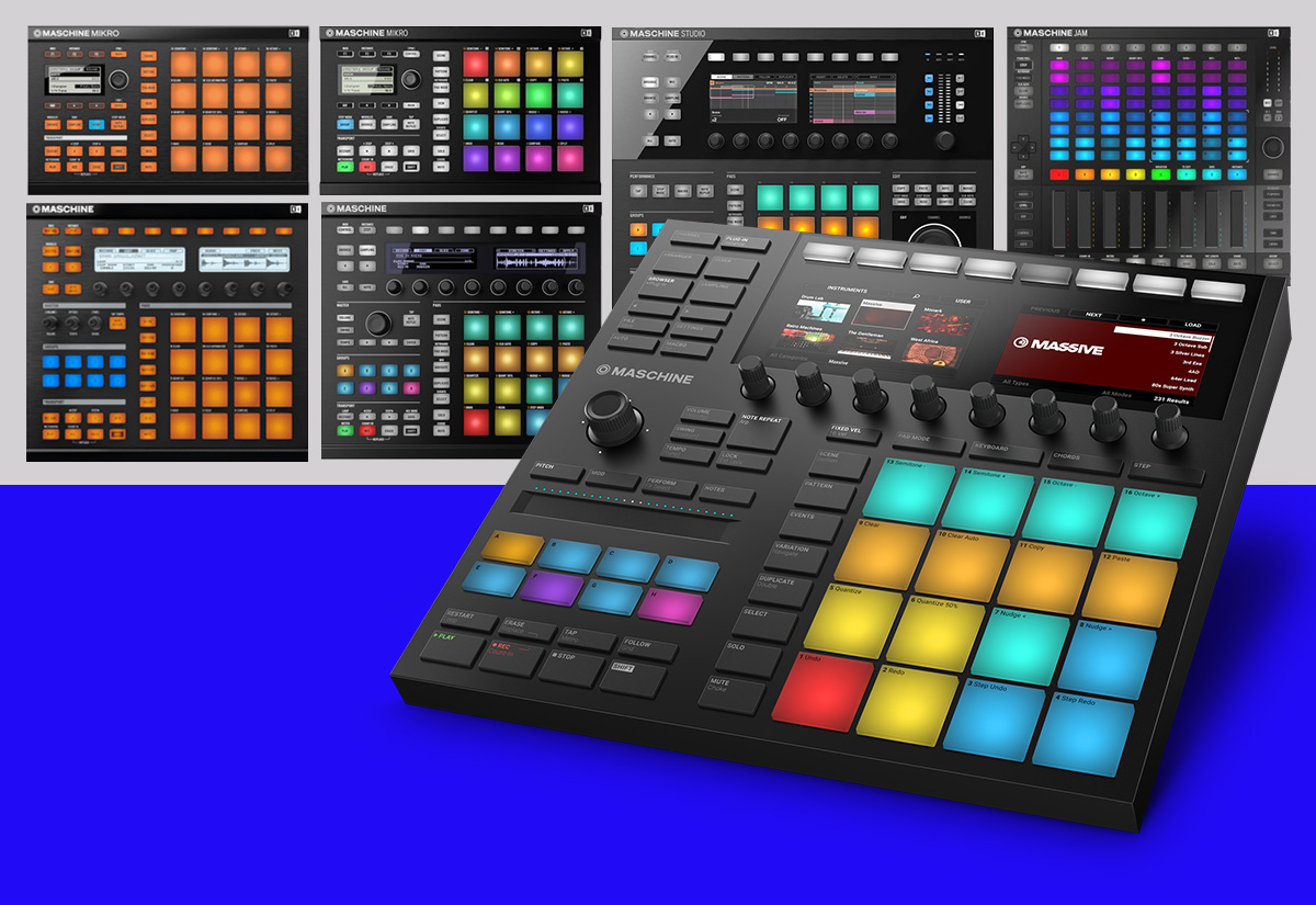 The Evolution of the Maschine