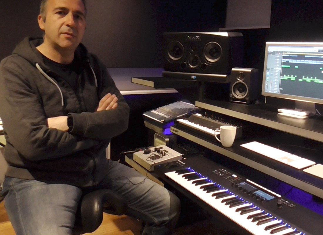 In The Studio: At Samplify Studios with Davide Carbone