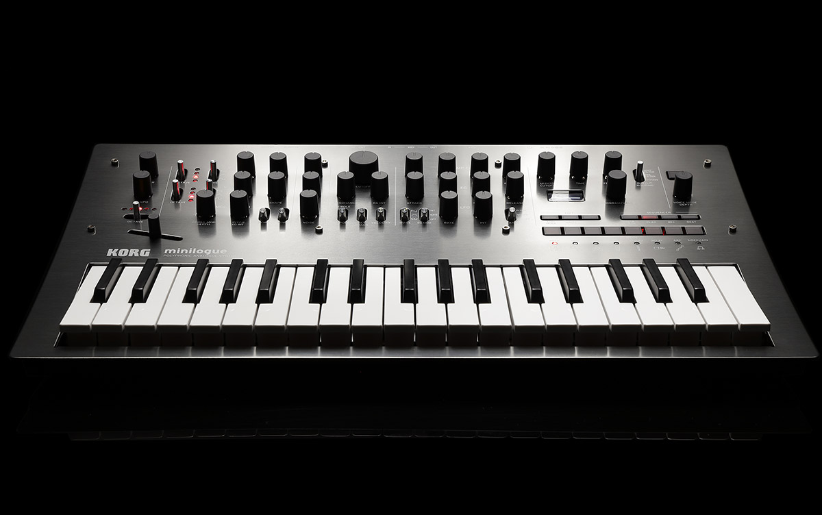 Korg Announce Limited Edition Minilogue PG