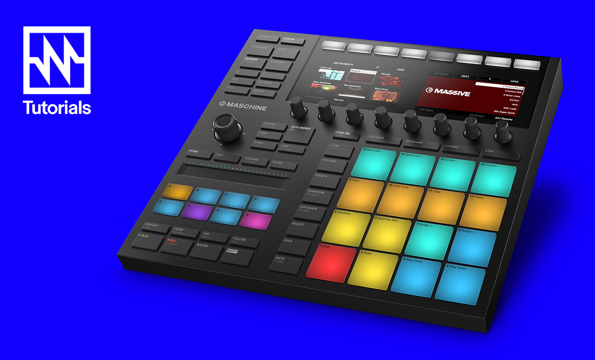 Noisegate Video Tutorial Series #001: Native Instruments Maschine MK3