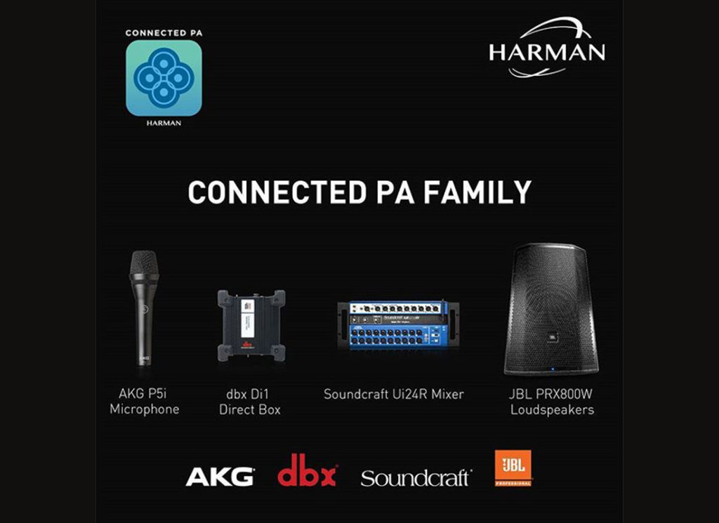 HARMAN Connected PA™: The Integrated PA Solution