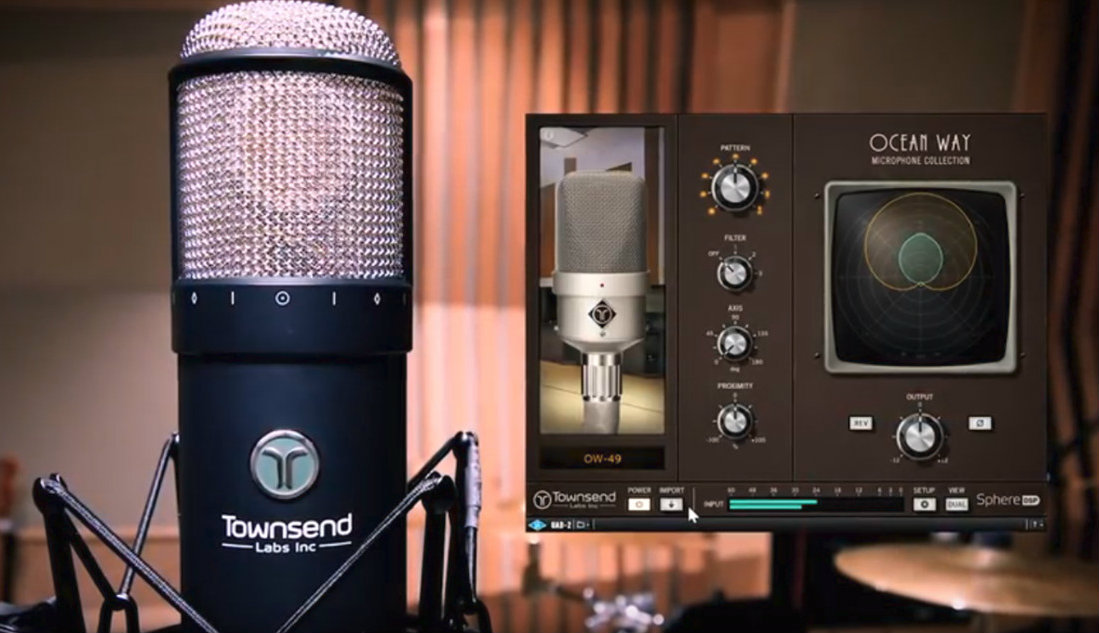 Townsend Labs Sphere L22 Microphone: Vintage Mics Collection from Ocean Way
