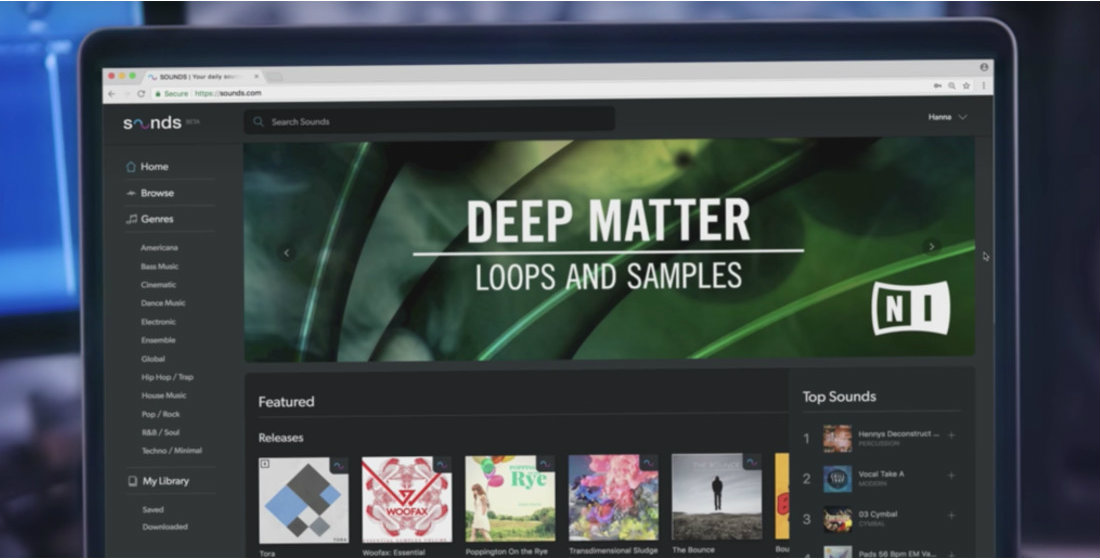 """Native Instruments Joins the Loop and Sample Market with """"Sounds"""""""