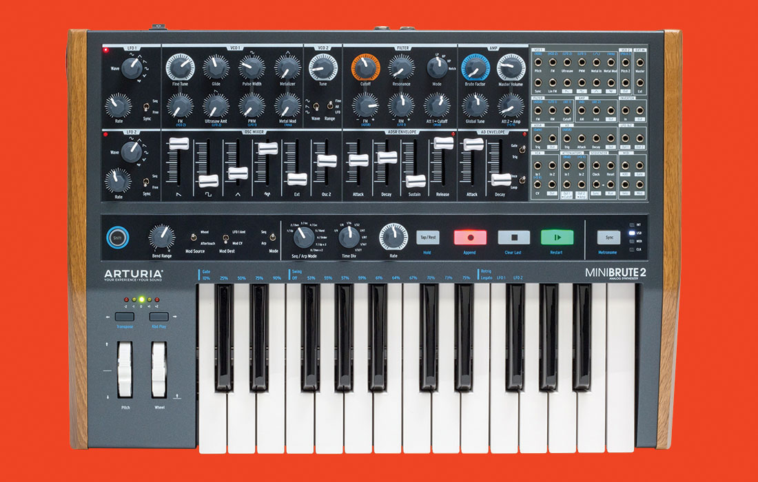 Arturia Announces the Minibrute 2 with more new products to come